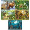 Альбом для рисования 20л., А4, на скрепке Hatber «В сказочном лесу»