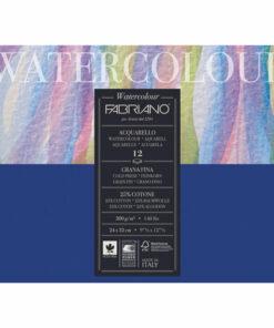 Альбом для акварели А4+ (240х320 мм) FABRIANO «Watercolour Studio», среднее зерно, 12 л., 300 г/м2, 17312432