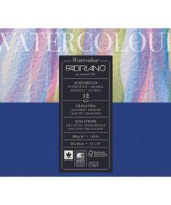 Альбом для акварели БОЛЬШОЙ А3+ (360х480 мм) FABRIANO «Watercolour Studio», среднее зерно, 12 л., 300 г/м2, 17313648