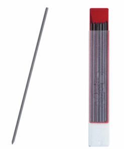 Грифели для цангового карандаша KOH-I-NOOR, НВ, 2 мм, КОМПЛЕКТ 12 шт., 41900HB013PK