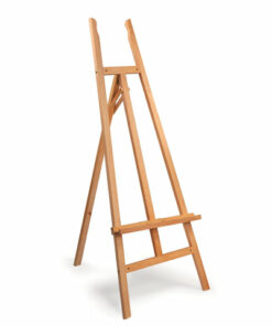 Мольберт напольный BRAUBERG ART «CLASSIC», бук, угол 60°, 61х152х67 см, высота холста 126 см, 190653
