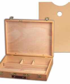 Этюдный ящик BRAUBERG ART CLASSIC, бук, 40х31х8 см, 190657