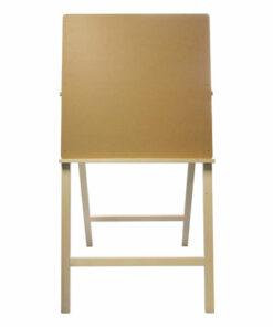 Мольберт напольный BRAUBERG ART «CLASSIC» «Хлопушка», планшет 60×60 см, в собранном виде 60x120x5 см, 190659