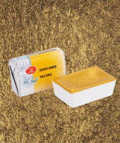 Золото инков металлик акварель кювета