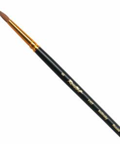 Кисть художественная ROUBLOFF (Рублев) колонок, круглая, № 5, длинная ручка, ЖК1-05,07Ж