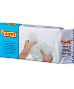 Паста (масса) для моделирования и лепки JOVI, отвердевающая, 1000 г, белая, 86
