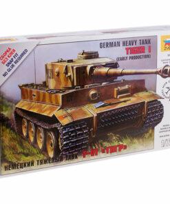 Модель для сборки Звезда «Немецкий тяжелый танк T-VI Тигр», масштаб 1:72