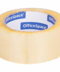 Клейкая лента упаковочная OfficeSpace, 48мм*100м, 45мкм, ШК