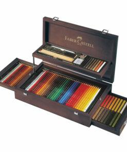 Набор художественных изделий Faber-Castell «Art & Graphic Collection», 125 предметов, дерев. кор.