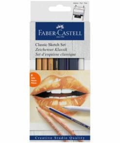 Набор художественных изделий Faber-Castell «Classic Sketch», 6 предметов, картон. упак.