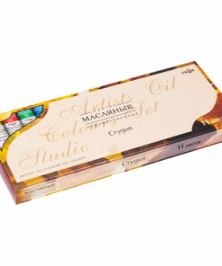 Краски масляные Гамма «Студия», 11 цветов (12 туб*9мл), картон