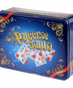 Игра настольная Лото, Десятое королевство, «Русское лото», жестяная коробка