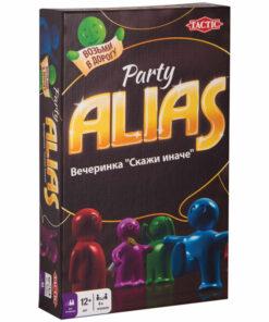 Игра настольная Tactic «ALIAS. Party», компактная версия, картонная коробка