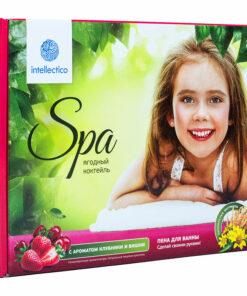 Набор «SPA» Intellectico «Пена для ванны «Ягодный коктейль»