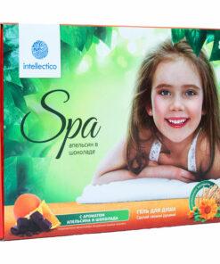 Набор «SPA» Intellectico «Гель для душа «Апельсин в шоколаде»