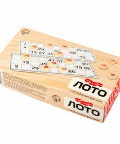 Игра настольная Лото, Десятое королевство, деревянные фишки