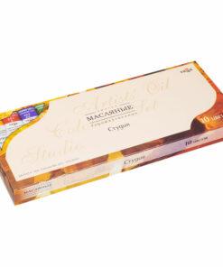 Краски масляные Гамма «Студия», 10 цветов, 18мл/туба, картон