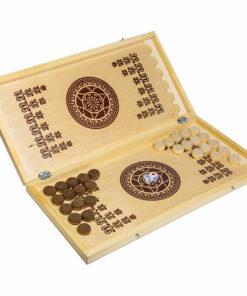 Игра настольная Нарды, Орловские шахматы, деревянные, малые, с доской