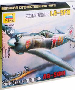 Модель для сборки Звезда «Советский истребитель Ла-5ФН», масштаб 1:144