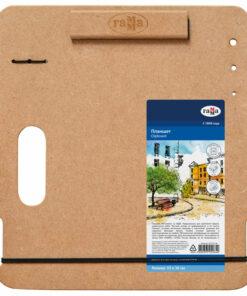 Планшет А4 (33*36см) Гамма «Московская палитра», МДФ, магнитный зажим, ручка