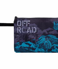 Папка для тетрадей 1 отделение, А4, Berlingo «Off-road», текстиль, на молнии