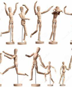 Гипсовые фигуры манекены
