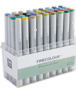 Набор маркеров для скетчинга FINECOLOUR JUNIOR