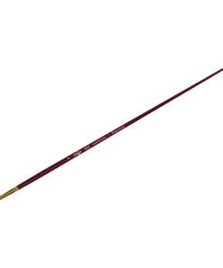 Кисть художественная, синтетика бордовая, Гамма «Вернисаж», круглая, длинная ручка №4