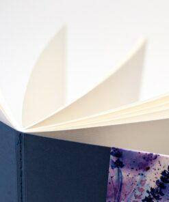 Скетчбук для акварели «Waterfall Nature» МАЛЕВИЧЪ, мелкая фактура, синий, 200г/м2, 19х19см, 20 листов