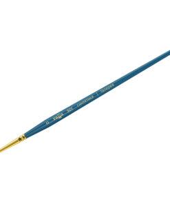 Кисть художественная, синтетика, Гамма «Галерея», плоская, короткая ручка №0