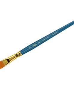 Кисть художественная, синтетика, Гамма «Галерея», плоская, короткая ручка №14