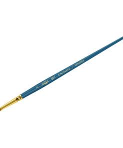 Кисть художественная, синтетика, Гамма «Галерея», плоская, короткая ручка №2