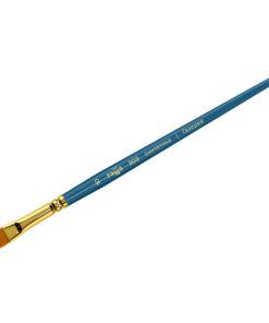 Кисть художественная, синтетика, Гамма «Галерея», плоскоовальная, короткая ручка №10