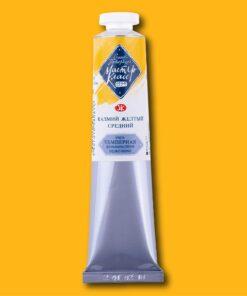 Краска темперная МАСТЕР-КЛАСС ПВА цв.№201 кадмий желтый средний туба 46мл